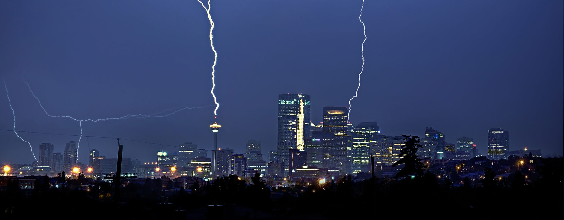 Calgary Skyline   Lightning IT Services   Alberta's Top Choice for IT Services